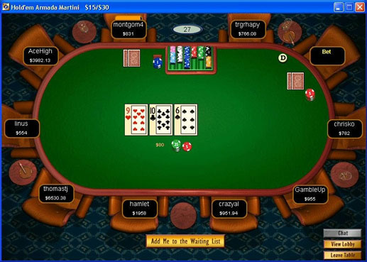 Pacifc Poker Review Screenshot
